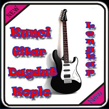 Kunci Gitar Dangdut Koplo poster