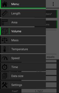 Conversions screenshot 1