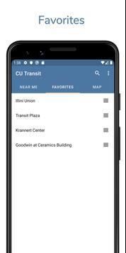 CU Transit capture d'écran 3