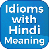 Idioms with Hindi Meaning Offline icon