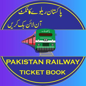 Pak Trains book ticket Pak Railway Nearby stations poster