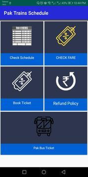 Pak Trains book ticket Pak Railway Nearby stations screenshot 1