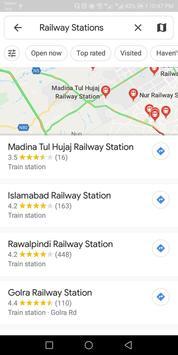 Pak Trains book ticket Pak Railway Nearby stations screenshot 3