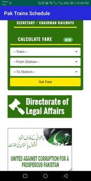 Pak Trains book ticket Pak Railway Nearby stations screenshot 4