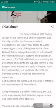 Cultural Club screenshot 2