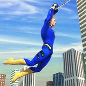 Flying Hero Crime Simulator icon