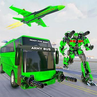 Ordu otobüsü robot araba oyunu - robot oyunları