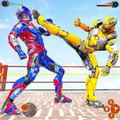 ikon Game pertempuran robot Ninja