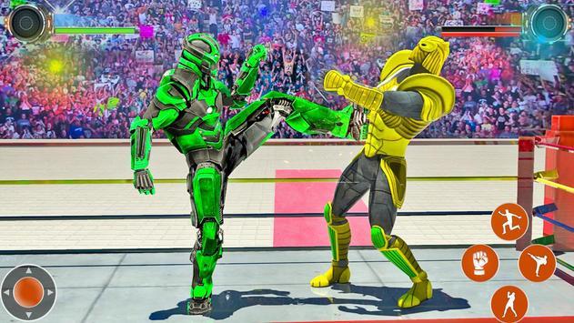 Game pertempuran robot Ninja screenshot 12