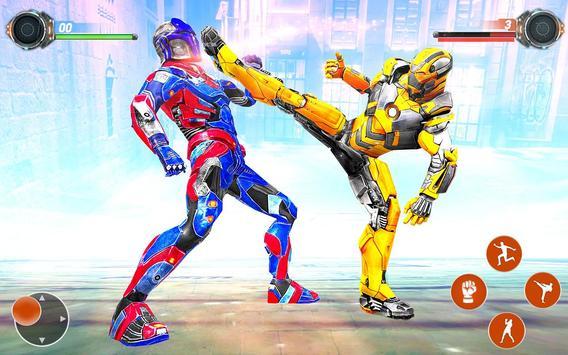 Game pertempuran robot Ninja screenshot 2