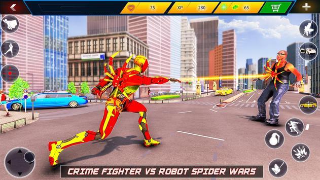 Flying Robot Rope Hero screenshot 10