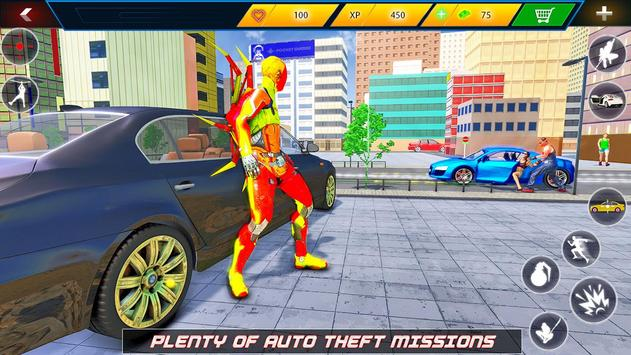 Flying Robot Rope Hero screenshot 19