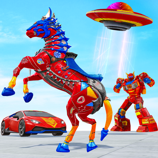 Download Horse Robot Car Game – Space Robot Transform wars For Android