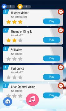 Piano Tap - Yuri on Ice screenshot 1