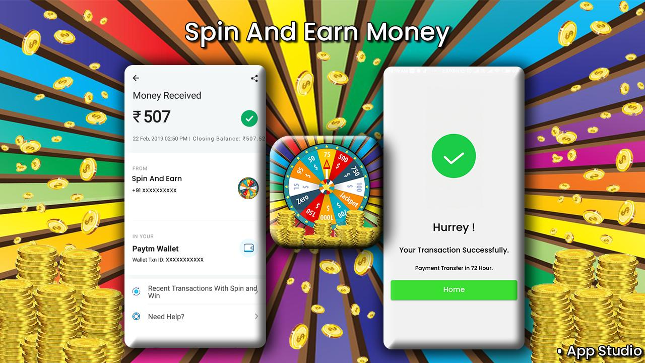 Spin and Earn : Earn Money for Android - APK Download