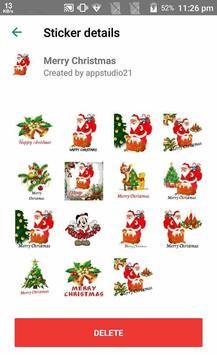 Latest Christmas Stickers App for Whats-app screenshot 5