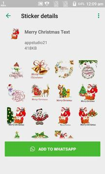 Latest Christmas Stickers App for Whats-app screenshot 6