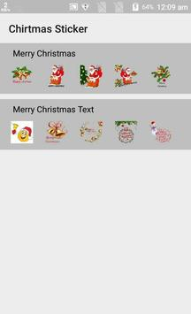 Latest Christmas Stickers App for Whats-app poster