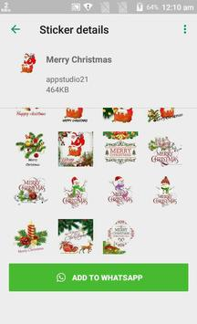 Latest Christmas Stickers App for Whats-app screenshot 1