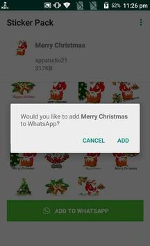 Latest Christmas Stickers App for Whats-app screenshot 3