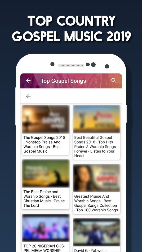 Gospel songs & music : Praise and Worship Songs for Android - APK