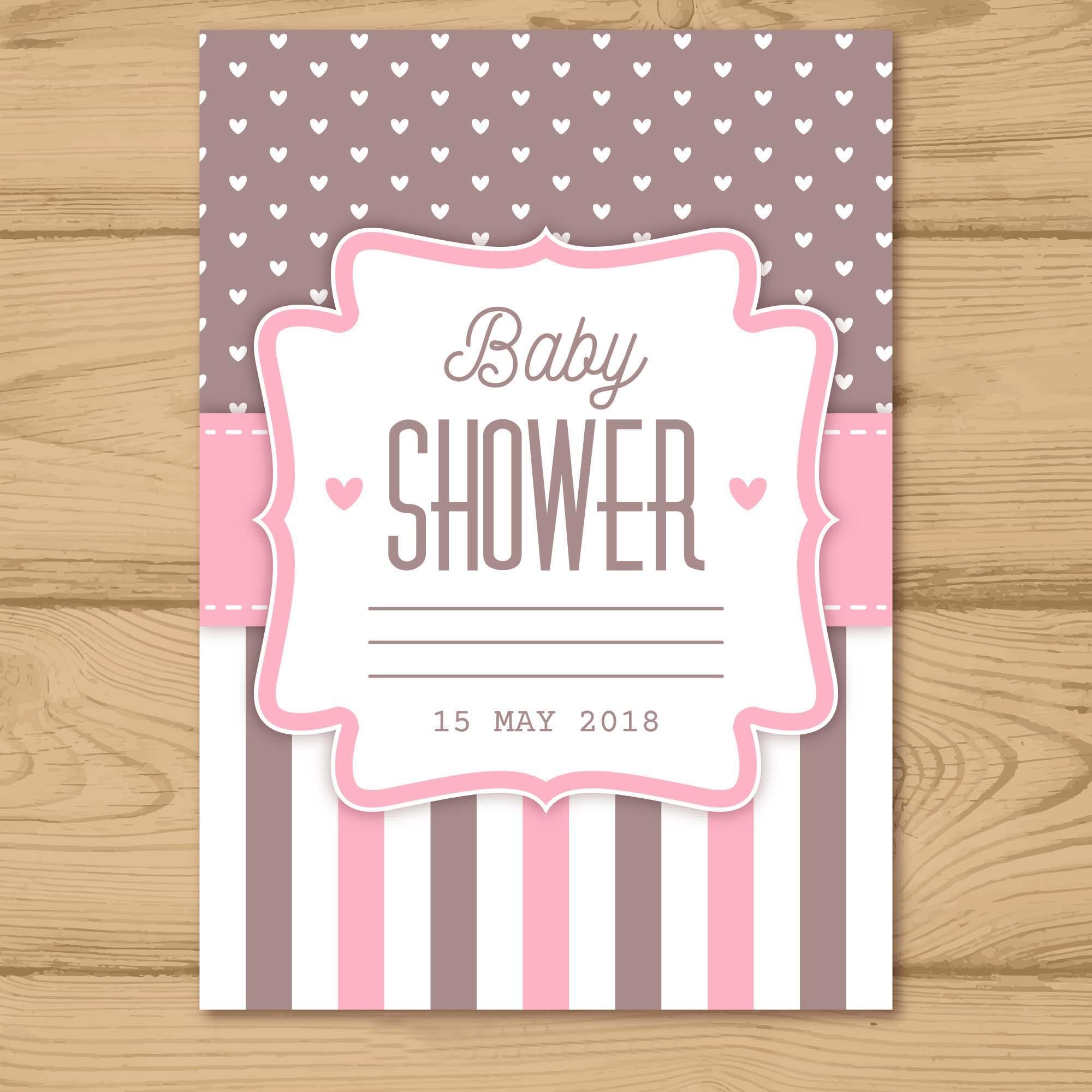 Tarjetas Creativas De Invitación De Baby Shower For Android
