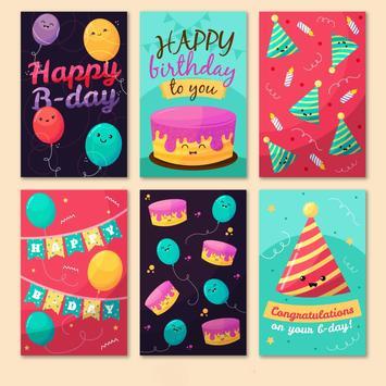 happy birthday cards free Plakat