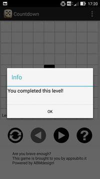 Countdown screenshot 2