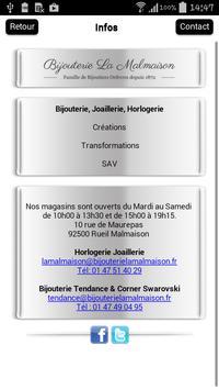 Bijouterie La Malmaison screenshot 1