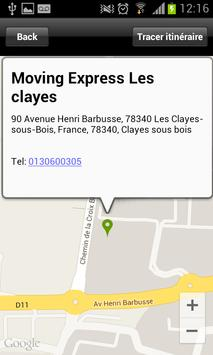Moving Express Les clayes screenshot 3
