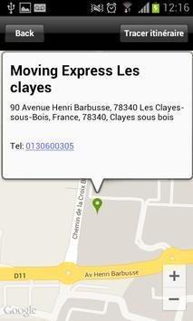 Moving Express Les clayes screenshot 11