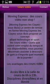 Moving Express Les clayes screenshot 1