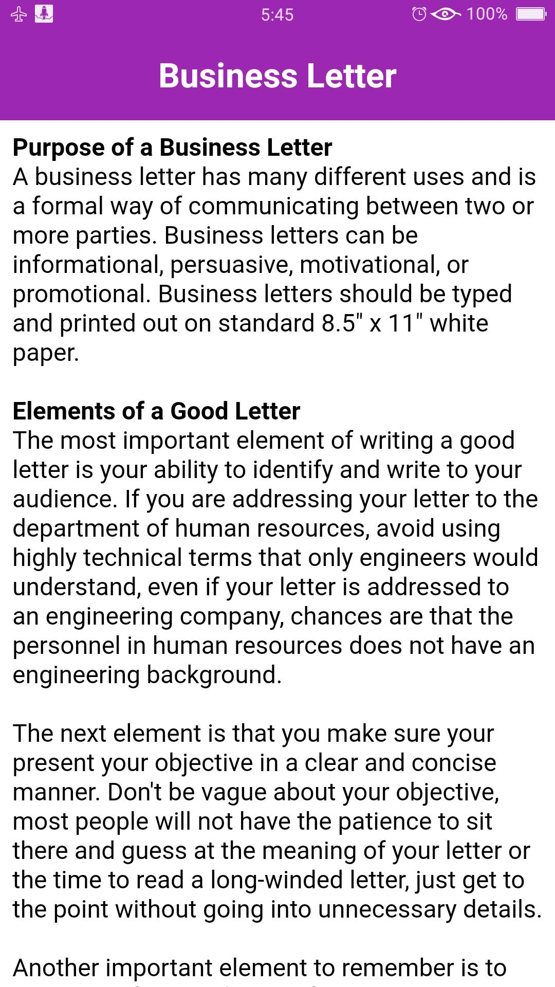 English Business Email Templates for Android - APK Download