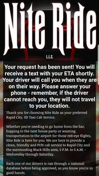 Nite Ride Cab screenshot 2