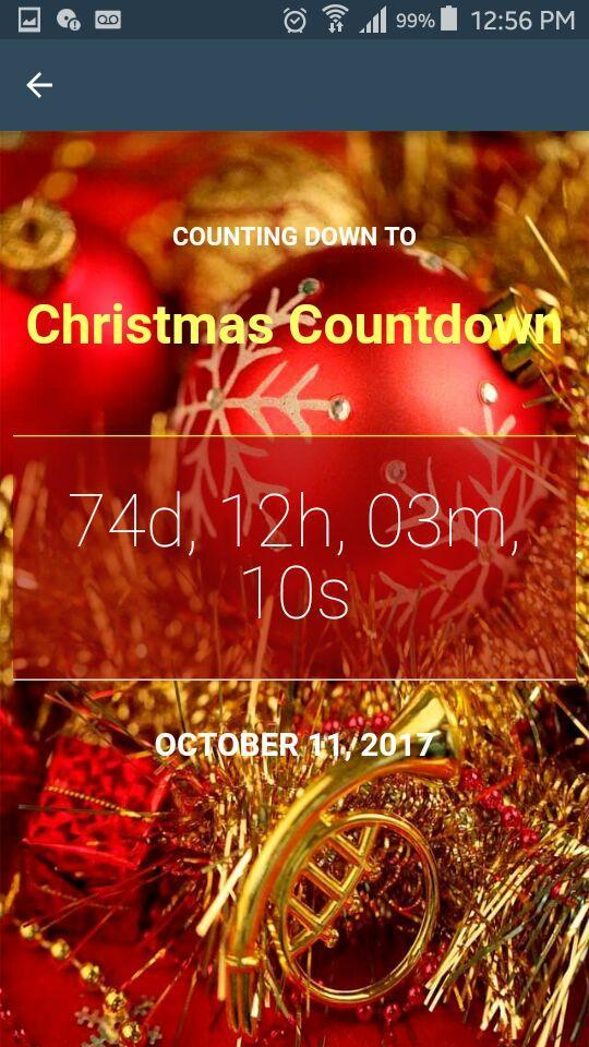 Until Christmas 99 Days Till Christmas.How Many Days Till Christmas For Android Apk Download