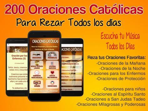 200 Oraciones Católicas Poster