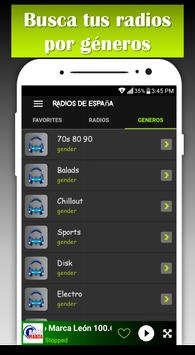 Spain Music Radio AM FM radio free screenshot 3