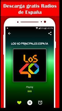 Spain Music Radio AM FM radio free poster