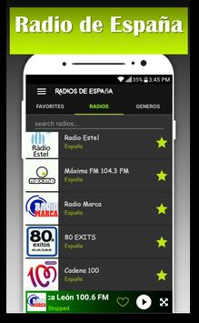 Spain Music Radio AM FM radio free screenshot 1