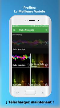 Radio Nostalgie Gratuit France App screenshot 1