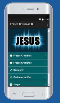 Frases Cristianas con Imagen imagem de tela 3