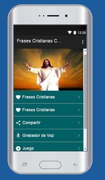 Frases Cristianas con Imagen imagem de tela 2