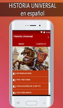 Historia Universal poster