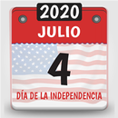 calendario usa 2020, calendario con festivos 2020 APK Android