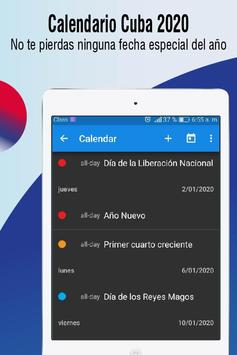 Ano 2020 Calendario.Calendario Cuba 2020 Calendario Con Feriados 2020 For