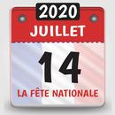 calendrier 2020 français avec jours fériés 2020 APK Android
