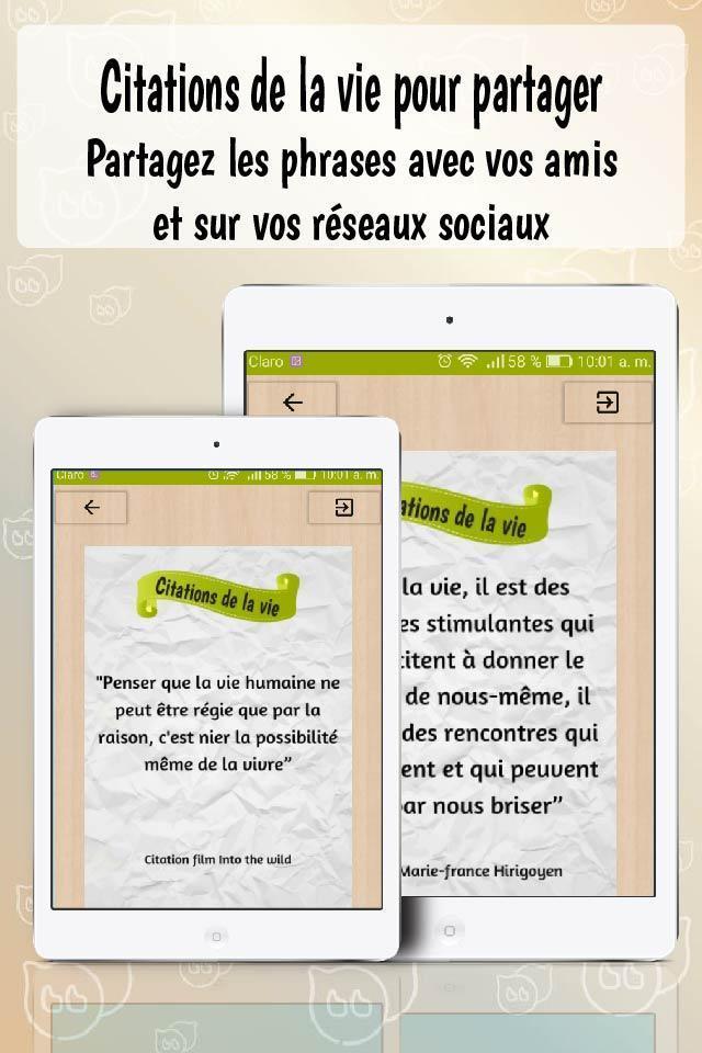 Citations De La Vie Gratuites Citations Sur La Vie For