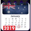 Australia calendar 2020, public holiday calendar APK Android