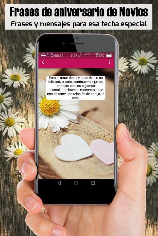 Frases De Aniversario De Novios Imagenes De Amor For Android