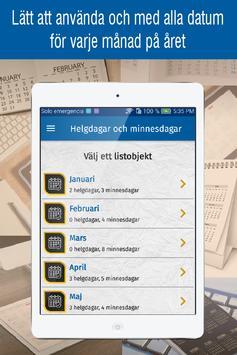 svensk kalender 2021 med svenska helgdagar screenshot 6